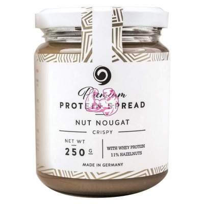 GOT7 Premium Protein Spread Nut Nougat Crispy - Crema de Chocolate con Avellanas Crujiente 250 gr