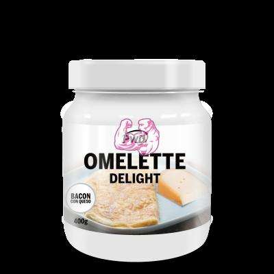 OMELETTE DELIGHT ( Bacon con Queso )