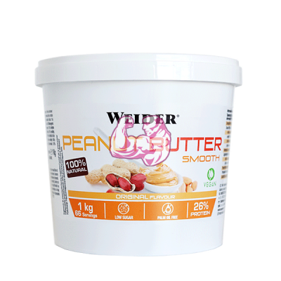 PEANUT BUTTER SMOOTH 1Kg.