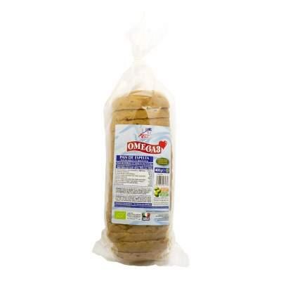Pan de molde a rebanadas con Omega 3