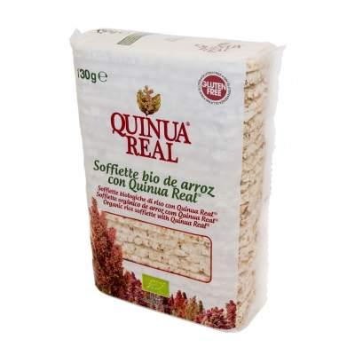 Soffiette de arroz con Quinua Real