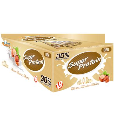 Super Protein Bar 30% Proteina Avellana