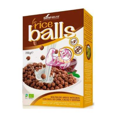 Rice Balls Bolitas de Arroz Integral 250 grs Soria Natural