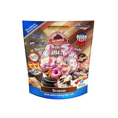 Harina de Avena sabor Brownie 3 Kg