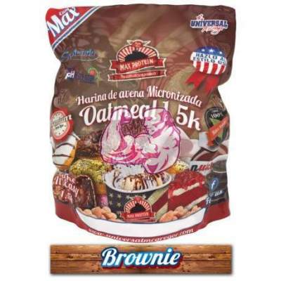 Harina de Avena sabor Brownie 1.5 Kg