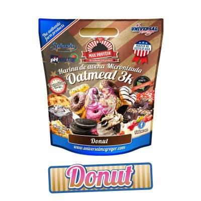 Harina de Avena sabor Donut 3 Kg