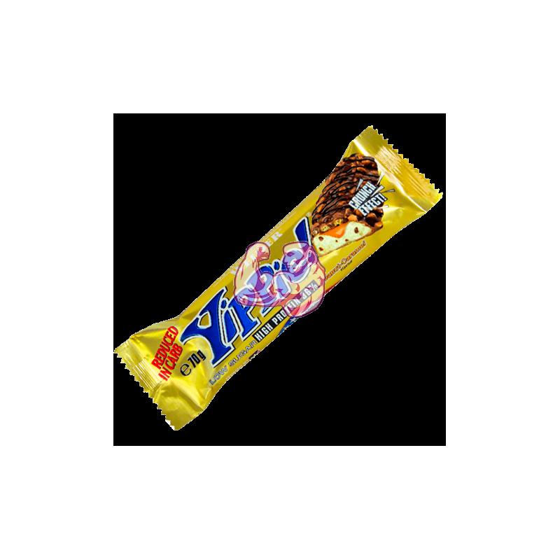 YIPPIE! BAR ( 70 gr ) Cacahuete - Caramelo