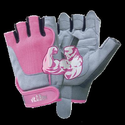 Guantes de entrenamiento woman pink