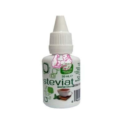 Edulcorante gotas de Stevia 30 ml. Bajo en calorias SORIA NATURAL