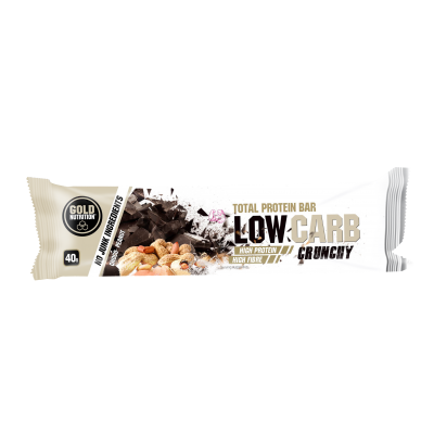 Total Protein Bar Low Carb Crunchy ( chocolate-cachuete ) 40gr