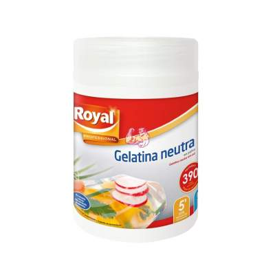 Royal Gelatina Neutra Polvo - 650 gr