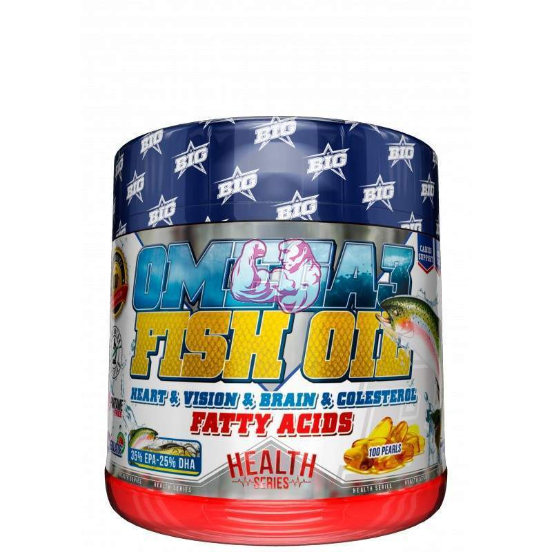 Omega 3 Fish Oil 100 caps.