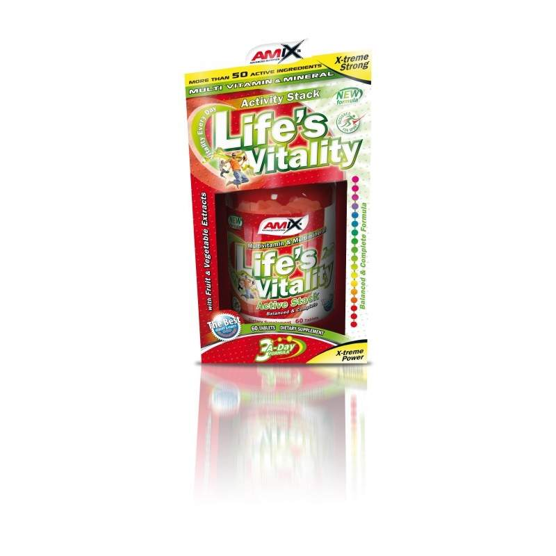 Life's Vitality Active Stack tbl.